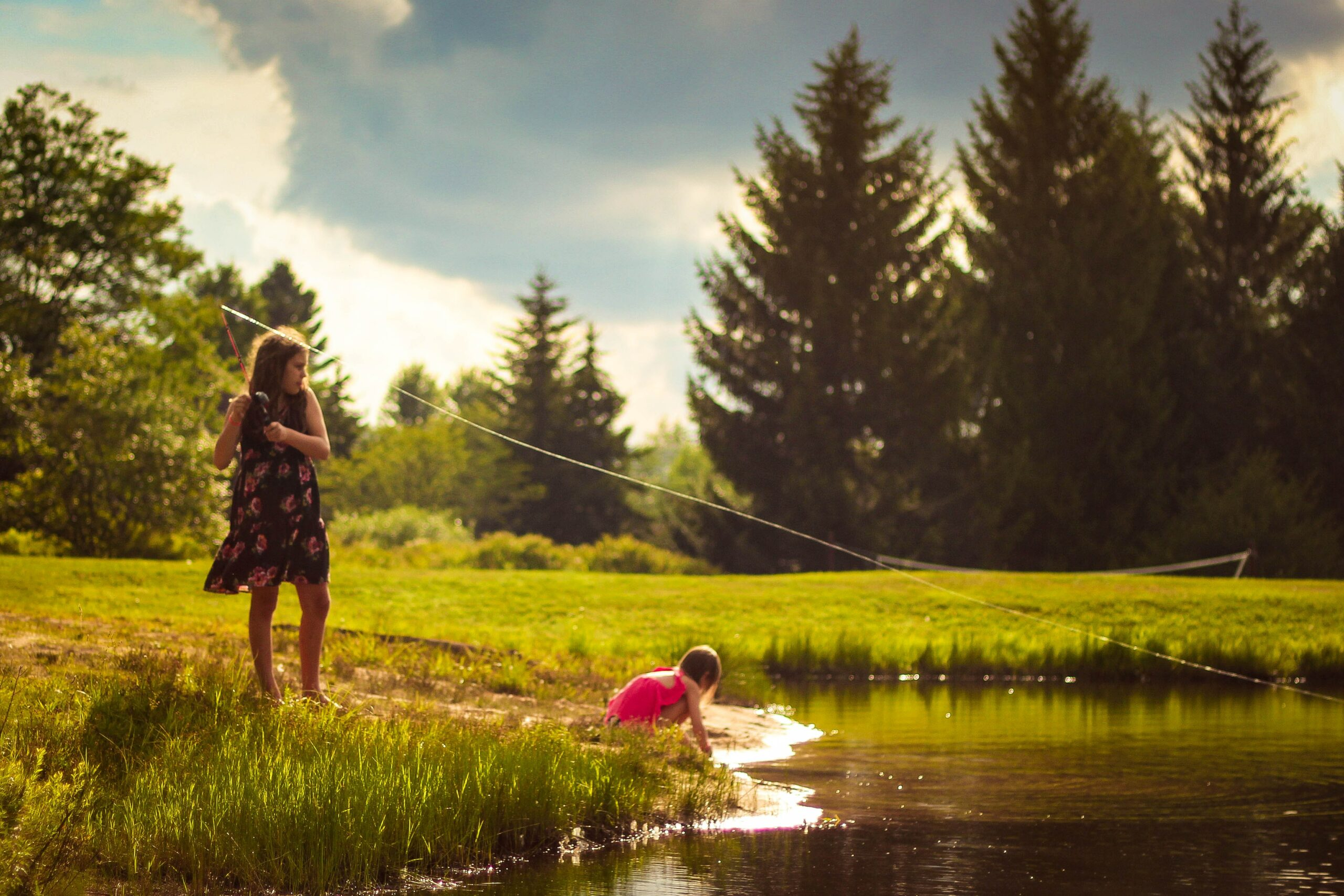 How Fishing Trips can teach your children about science